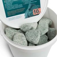 Камінь Жадеїт шліфований дрібний (відро) 10 кг