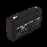 Акумулятор AGM LogicPower LP 6-1,3 AH