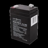 Акумулятор AGM LogicPower LPM 6-4,5 AH