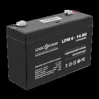 Акумулятор AGM LogicPower LPM 6-14 AH