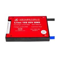 BMS плата Li-ion 60V 16S 40A