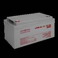 Акумулятор гелевий LogicPower LPM-GL 12-65 AH