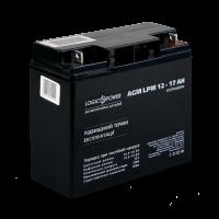 Акумулятор AGM LogicPower LPM 12-17 AH
