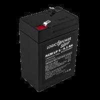 Акумулятор AGM LogicPower LP 6-4.5 AH SILVER