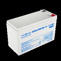 Акумулятор AGM LogicPower LPM-MG 12-7,5 AH