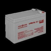 Акумулятор гелевий LogicPower LPM-GL 12-7,5 AH