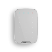 Бездротова сенсорна клавіатура AJAX KeyPad (white)