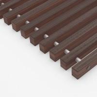 Решетка деревянная RADOPOL цвет орех RDO.340.4250