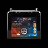 Акумулятор LogicPower Lifepo4 12-60 AH (+ зліва, пряма полярність)