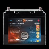 Акумулятор LogicPower Lifepo4 12-100 AH (+ зліва, пряма полярність)