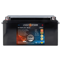 Акумулятор LogicPower Lifepo4 12-180 AH (+ зліва, пряма полярність)