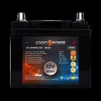 Акумулятор LogicPower Lifepo4 12-50 AH (+ зліва, пряма полярність)