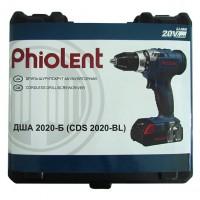 Акумуляторный шуруповерт Phiolent ДША2020-Б (CDS2020-BL)
