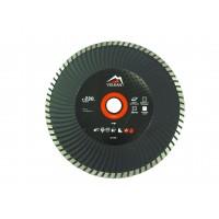 Диск алмазний універсальний Vulkan ZY-F230 230х22,23 мм турбо-хвиля
