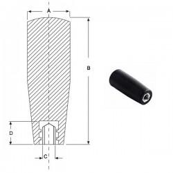 Ручка циліндрична M8, L73mm