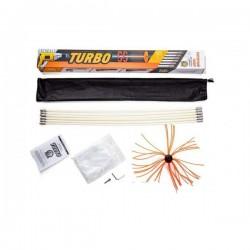 Роторний набір для чистки димоходу Savent Turbo