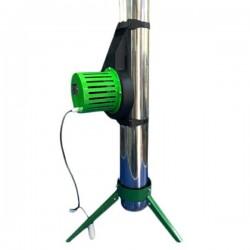 Підсилювач тяги для димоходу накладний