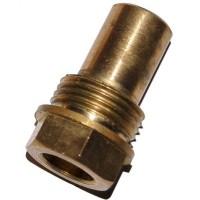 Гільза для датчика температури 3/8, 10,5х12мм, L=30мм, один зонд