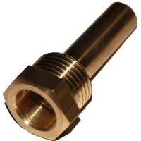 Гільза для датчика температури 1/2, 10,5х12мм, L=57мм, один зонд