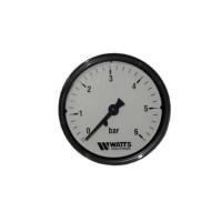Манометр WATTS F+R100 0-6 Bar