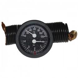 Термоманометр капілярний CEWAL TI 52 P 0-120 °C/0-4 Bar